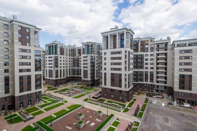 Жилой квартал LIFE-Приморский. Фотография © Архитектурная мастерская Цыцина