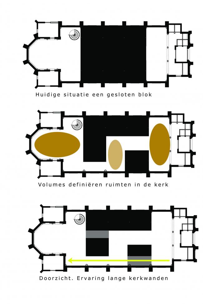 Частный дом Woonkerk XL © Zecc Architects