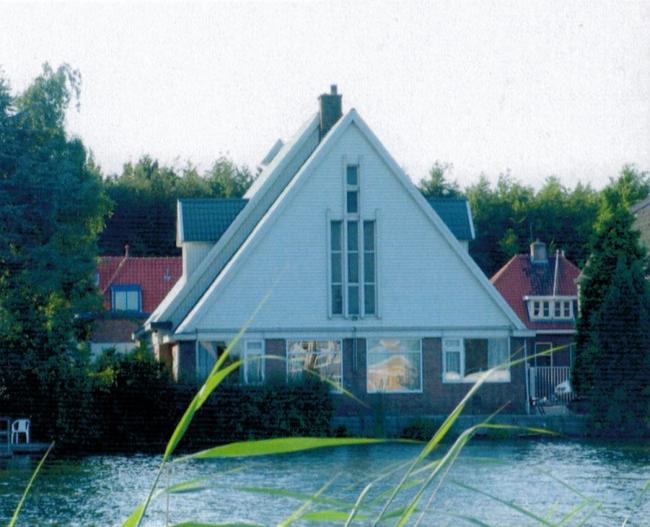 Церковь в Роттердаме до перестройки. Предоставлено Ruud Visser Architects i.c.w. Peter Boer