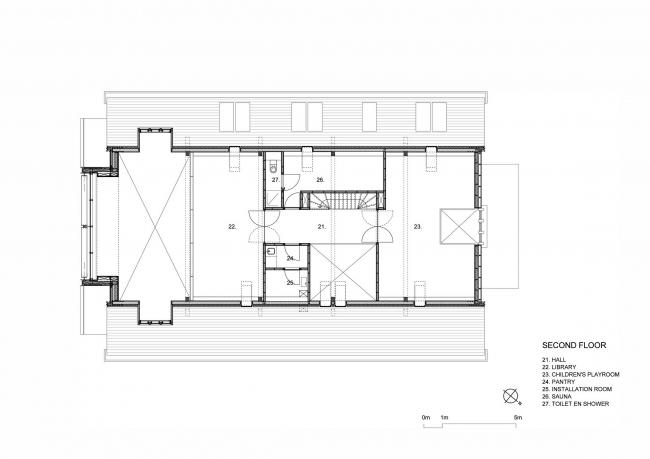 Частный дом в Роттердаме © Ruud Visser Architects i.c.w. Peter Boer