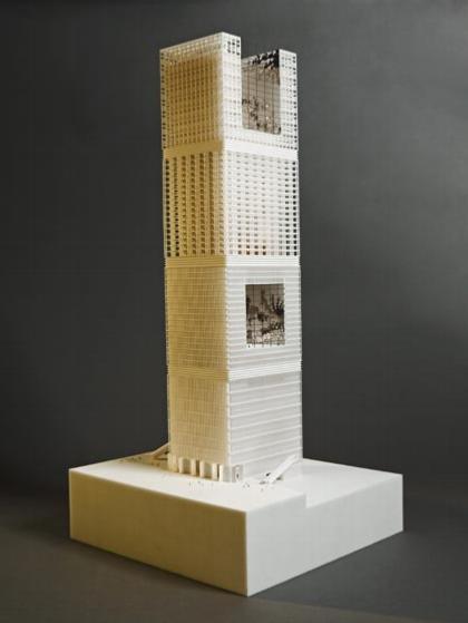 Башня Signal. Макет