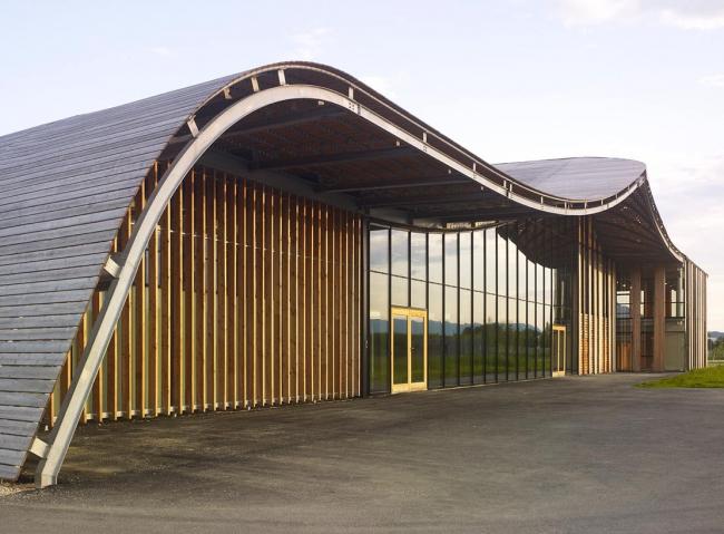 Штаб-квартира компании Rossignol © Herault Arnod Architectes
