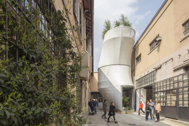 Инсталляция SO-IL MINI LIVING – Breathe. Фотография предоставлена BMW Group