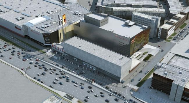 Культурно-досуговый центр с кинотеатром на ул. Орджоникидзе © ABD architects. Предоставлено пресс-службой «Москомархитектуры»