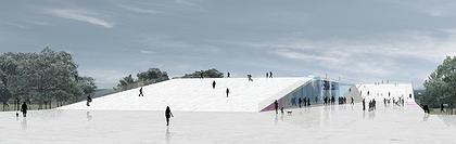 Музейный центр PermMuseumXXI. Конкурсный проект Б. Бернаскони. Победитель второго тура (I-II премия)