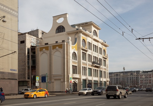 Restoration of the Sytin house © Ginsburg Architects, photograph by Aleksey Knyazev