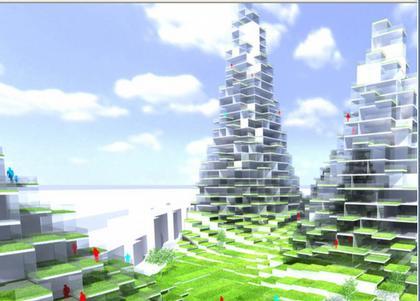 Lego Towers, Копенгаген