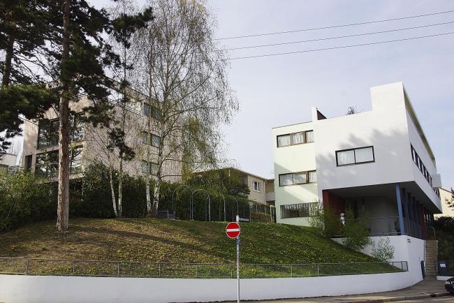 Дома Ле Корбюзье и Пьера Жаннере (№13 и 14-15). Фото © Елена Невердовская