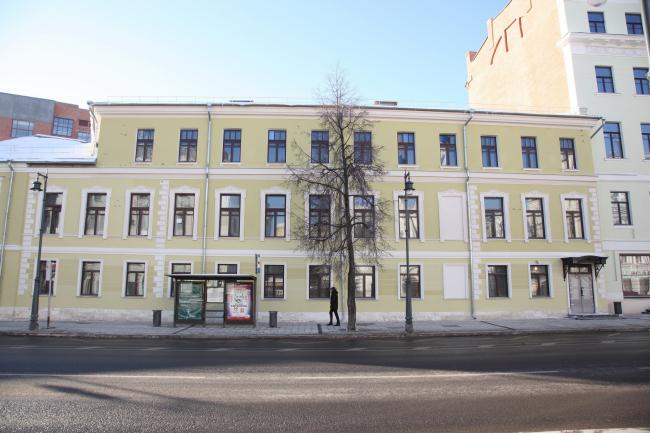 Restoration of the Dolgorukovykh-Bobrinskikh manor house on the Malaya Dmitrovka Street © Ginsburg Architects, photograph by Aleksey Knyazev