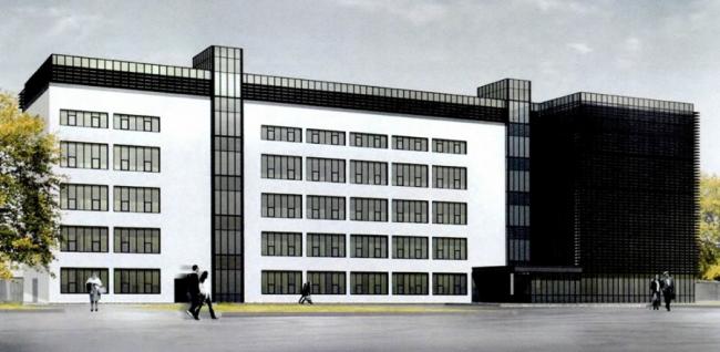 Производственный комплекс Института травматологии © Сенаб-Проект. Предоставлено пресс-службой «Москомархитектуры»
