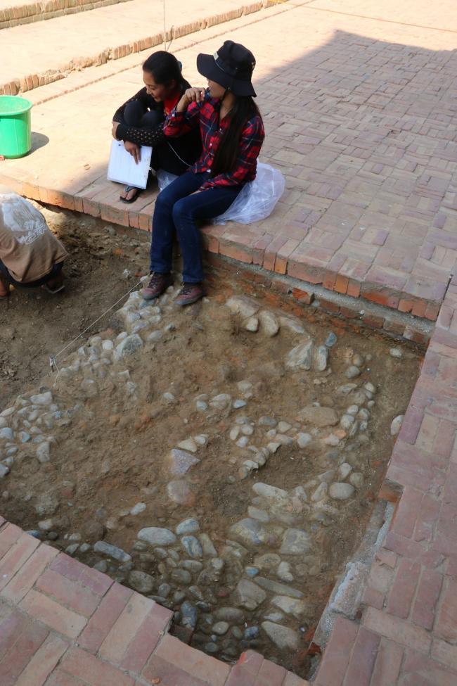 Urban Archaeology excavation at Patan Durbar square. © Kai Weise