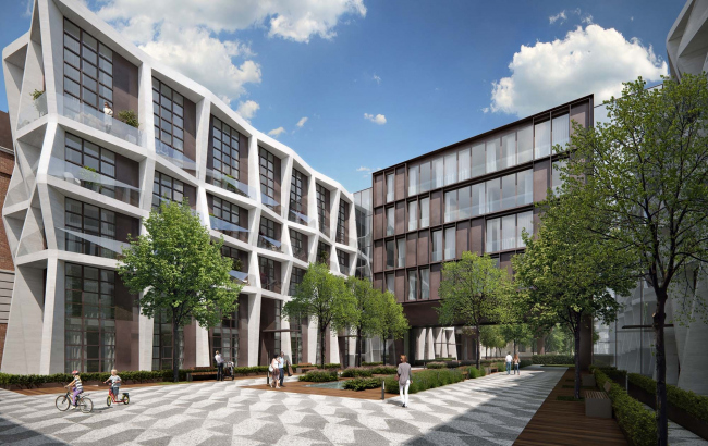 «Ordynka. Собрание клубных домов», проект © Architects of Invention