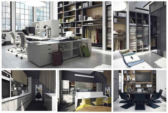 Мария Лазич, Мастерская дизайна MARYART-DESIGN (Москва). Проект:  «Офис для дизайнеров и архитекторов в Нью-Йорке»