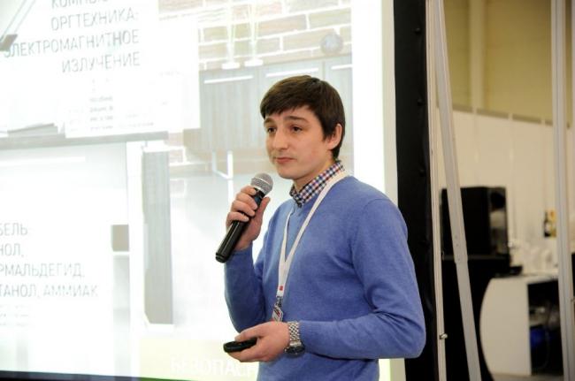 Сергей Сысоев, руководитель отдела экологической экспертизы EcoStandard group. Фотография предоставлена организаторами конкурса