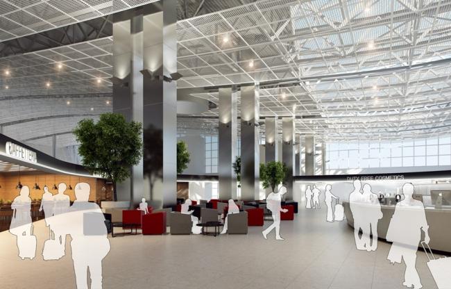 Международный аэропорт «Симферополь». Изображение предоставлено организаторами конкурса