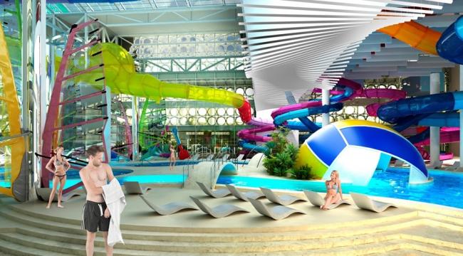 Плавательный центр «Лужники». Изображение предоставлено организаторами конкурса