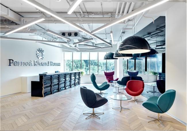 Офис Pernod Ricard Rouss. Изображение предоставлено организаторами конкурса