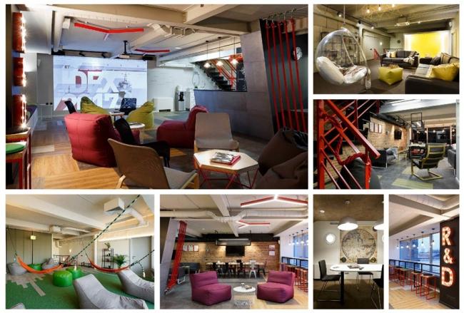 Людмила Розводовская, Мастерская дизайна «ENTER-RA» (Санкт-Петербург). Проект: «KT FUNTECH: lounge working space».