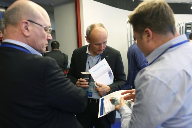Межотраслевой форум в Москве с участием экспертов из различных отраслей экономики. Фотография © SIEGENIA