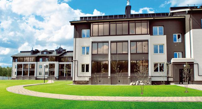 Жилой комплекс «Ёлки-Парк». Изображение с сайта www.елки-парк.рф