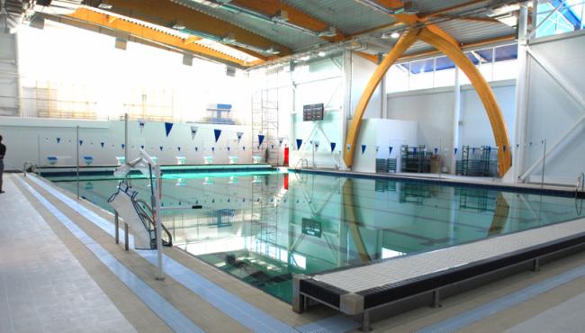 Спортивный комплекс в Омске. Фотография предоставлена «Металл Профиль»