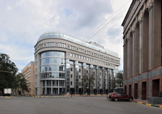 Бизнес-центр «Ордер-Хаус» © Архстрой