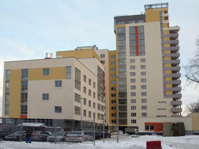 Жилой дом в квартале между ул. Гоголя и Нижегородской © Творческая мастерская архитектора Быкова