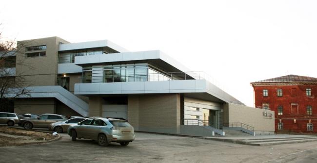 Развлекательный центр на Нижневолжской набережной © Архитектурное бюро С. Горшунова
