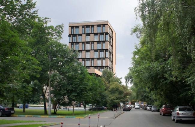 Гостиница на ул. Нижняя Масловка © Арвест. Предоставлено пресс-службой «Москомархитектуры»