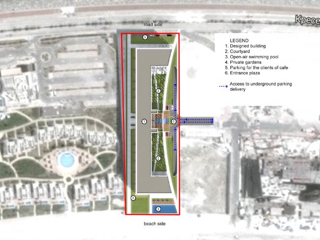 """Palm Jumairah Community project. Masterplan © """"GrandProjectCity"""""""