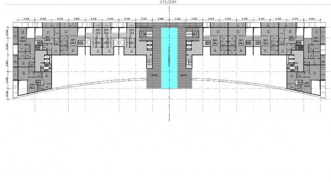 Проект PalmJumairahCommunity. План четвертого этажа © «ГрандПроектСити»