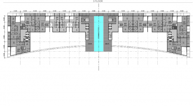 """Palm Jumairah Community project. Plan of the fourth floor © """"GrandProjectCity"""""""
