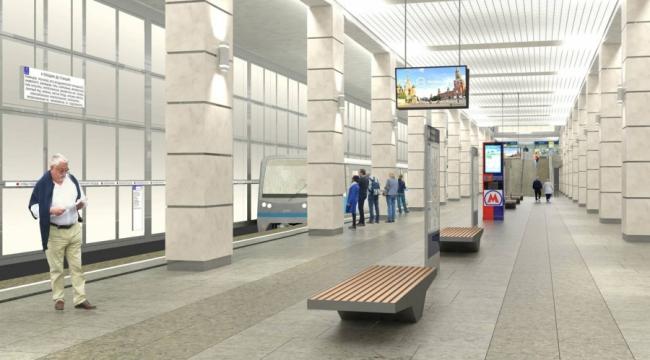 Станция метро «Саларьево» © Инжпроект. Предоставлено пресс-службой «Москомархитектуры»
