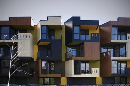 Ofis. Жилой комплекс Tetris в Любляне