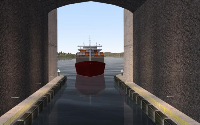 Тоннель для кораблей через полуостров Стад. Изображение: Kystverket/Force Technology