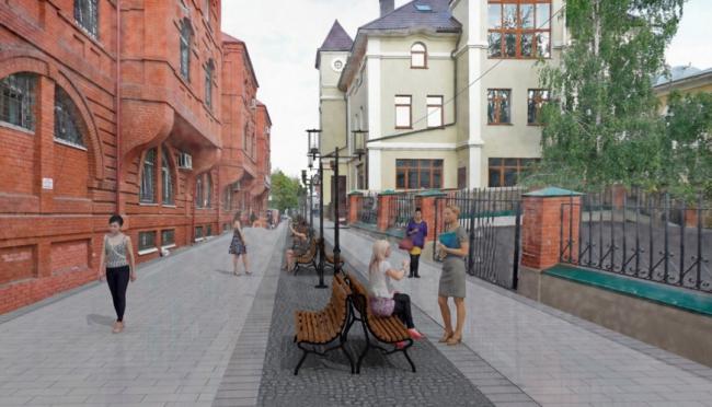 Архитектурно-планировочная концепция формирования городской среды Сергиева Посада. Изображение предоставлено Главархитектуры Московской области