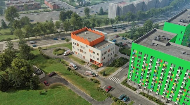 Поликлиника в Сосенском © ООО «ПИК-Проект»