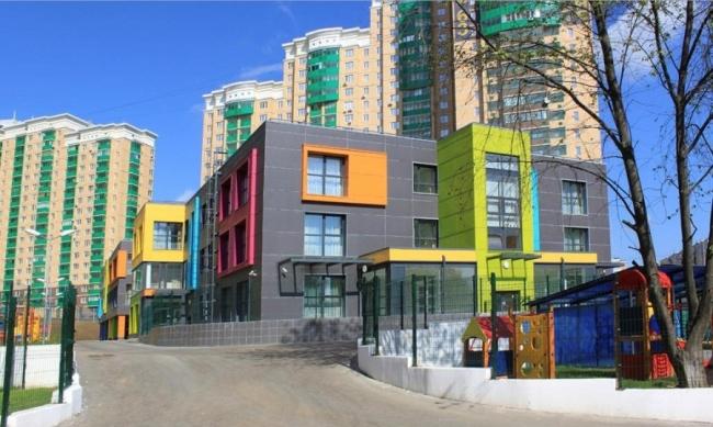 Детский сад в Загорье © ППФ «Проект-Реализация». Предоставлено пресс-службой «Москомархитектуры»