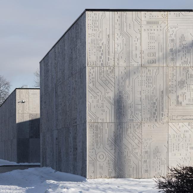 Павильон на ВДНХ. Постройка, 2016. Wall. Рубен Аракелян, Айк Навасардян. Фотография © Илья Иванов