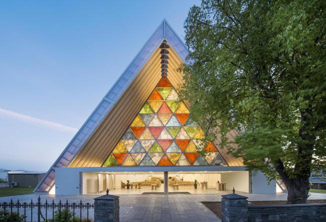 Christchurch Cardboard Cathedral. Photo by Stephen Goodenough