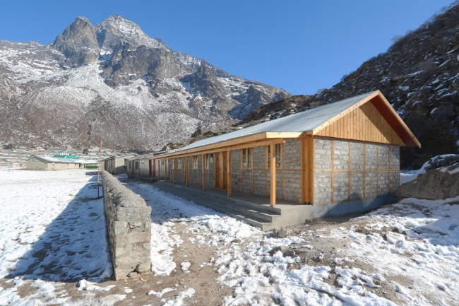 Secondary School in Khumjung, Nepal. Photo by Voluntary Architects' Network
