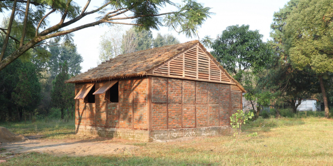 Nepal House Project. Photo by Voluntary Architects' Network