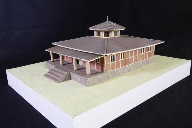 Буддийский храм для Непала. Фото: Voluntary Architects′ Network