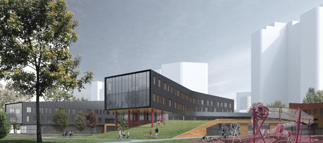 Образовательный комплекс в составе ЖК «Символ» © ATRIUM