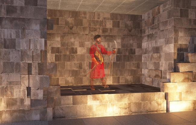 Подземный музей археологии Зарядья © Юрий Аввакумов, Георгий Солопов