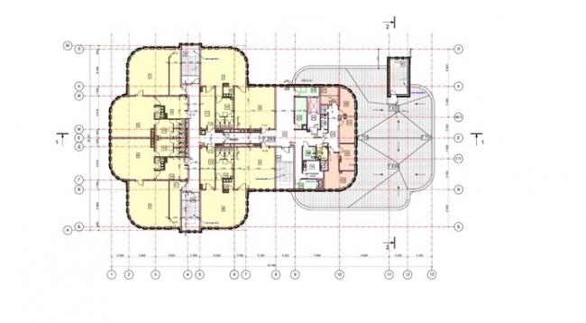 Детский сад на ул. Перовская. План 2 этажа © ОАО «Моспроект». Предоставлено пресс-службой «Москомархитектуры»