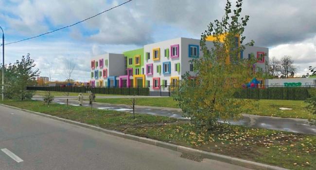 Детский сад в Бутово © ООО «Столичный стиль». Предоставлено пресс-службой «Москомархитектуры»
