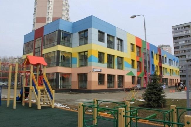 Детский сад на ул. Свободы © ППФ «Проект-Реализация». Предоставлено пресс-службой «Москомархитектуры»