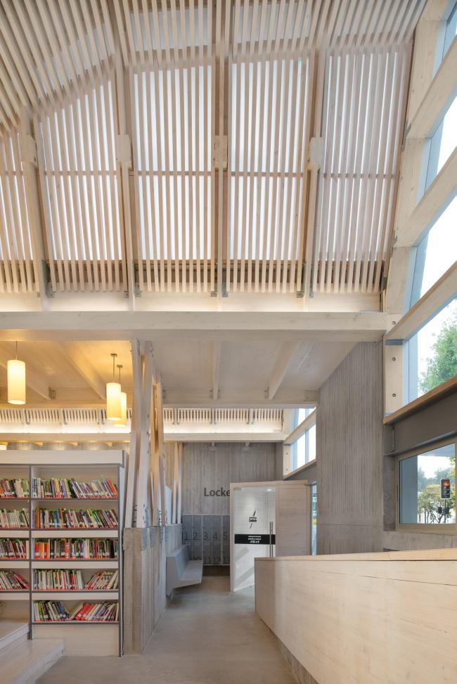 Библиотека города Конститусьон © Felipe Díaz Contardo
