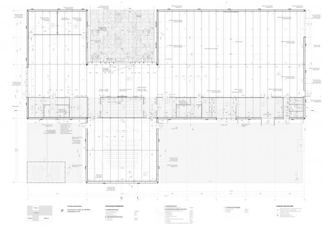 Павильон Департамента Информационных технологий на ВДНХ. План © WALL